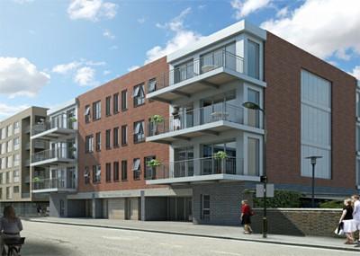 Apartment Development, Whiston Road, London E2